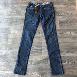 Stitch's Fox Skinny Jeans Boracho Dark Wash 27